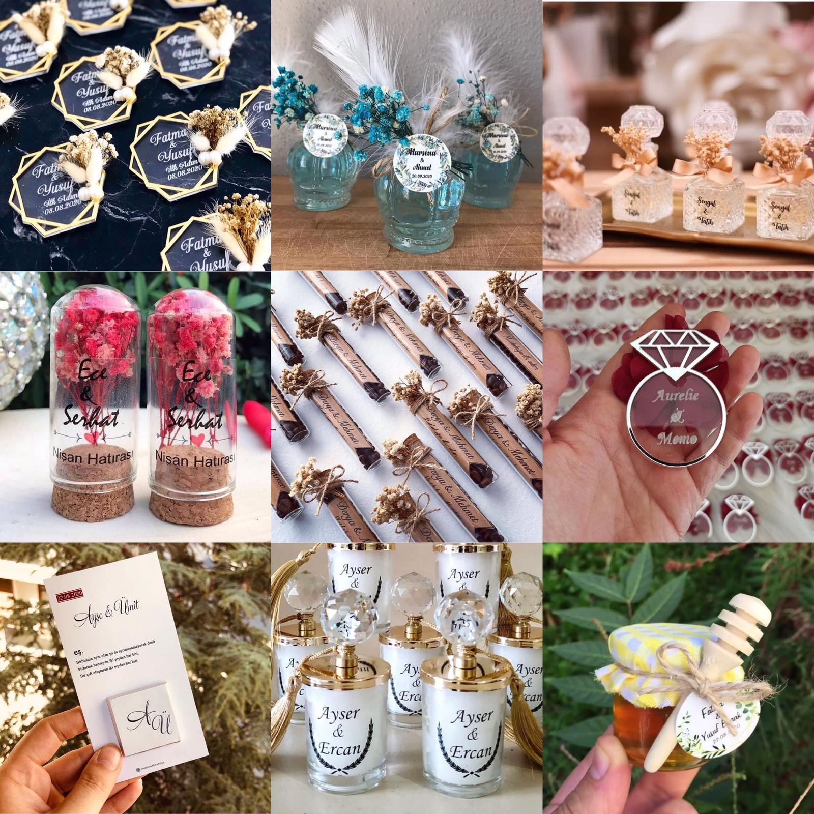 nikah şekeri söz nişan hediyelikleri hatırası